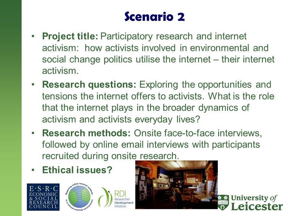 scenario questions for interviews