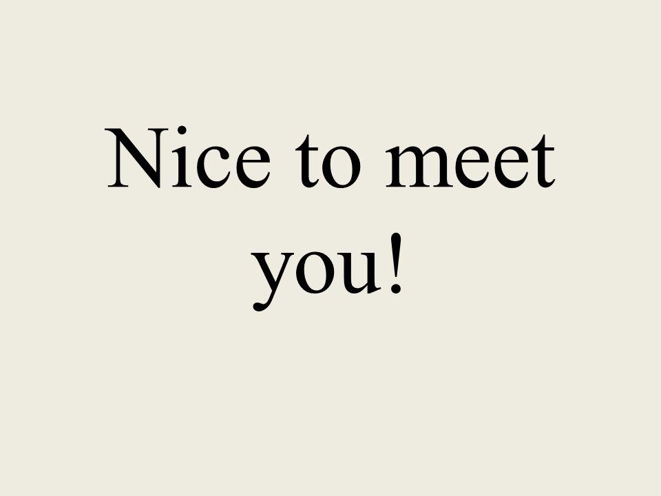 Me llamo… My name is…