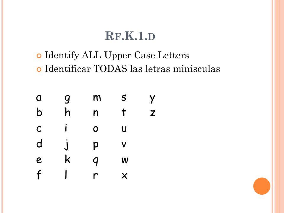R F.K.1.