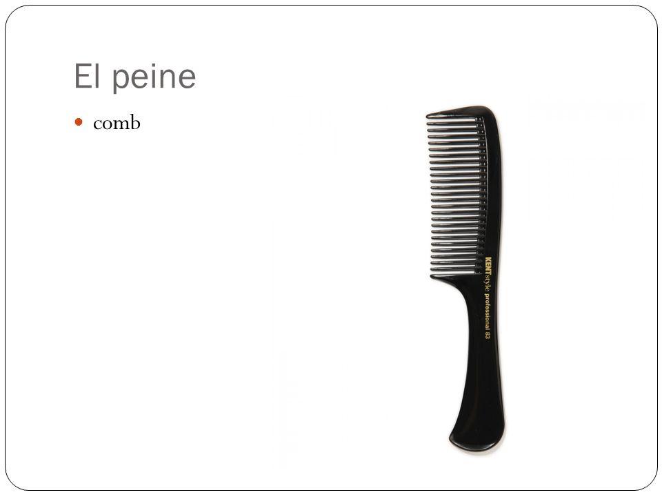 El peine comb
