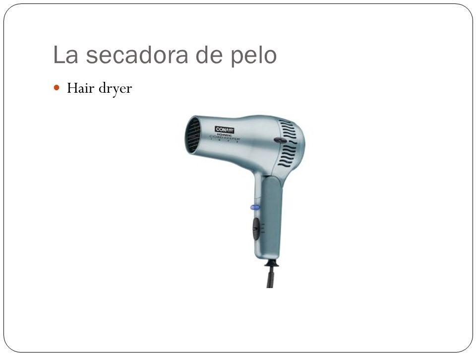La secadora de pelo Hair dryer