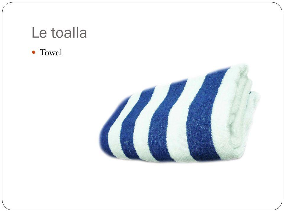 Le toalla Towel