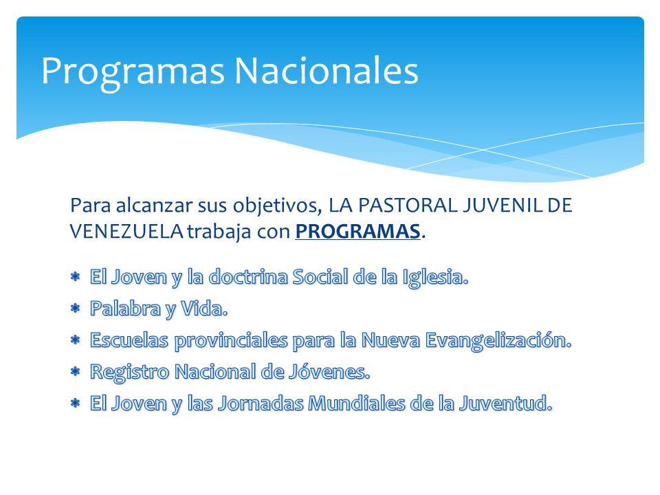 Programas Nacionales