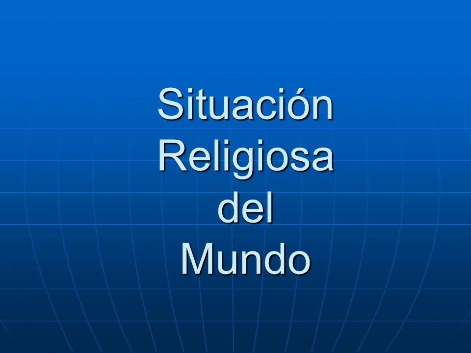 Situación Religiosa del Mundo