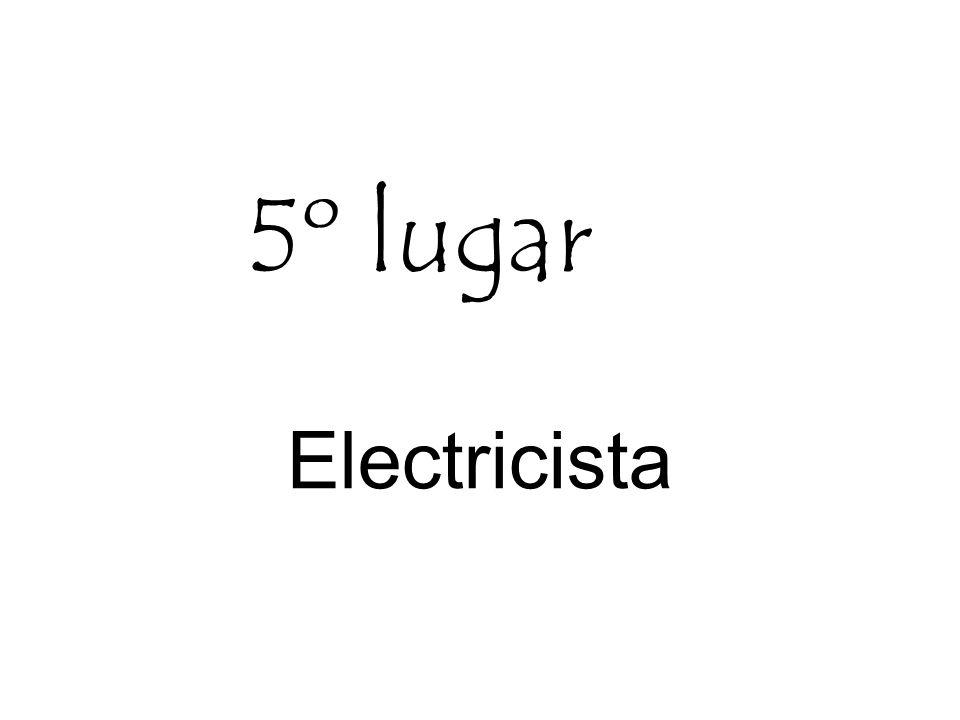 Electricista 5º lugar