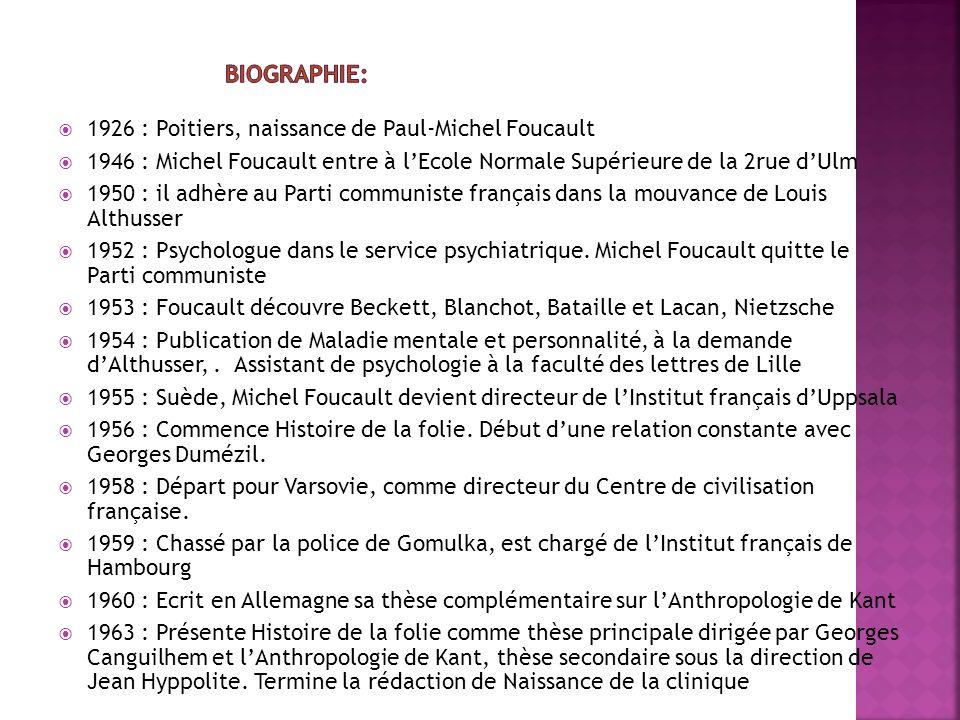 منابع : www.michel-foucault-archives.org http://www.evene.fr/celebre/biographie/michel-foucault- 1520.php?citations http://elodie.delcambre.over-blog.