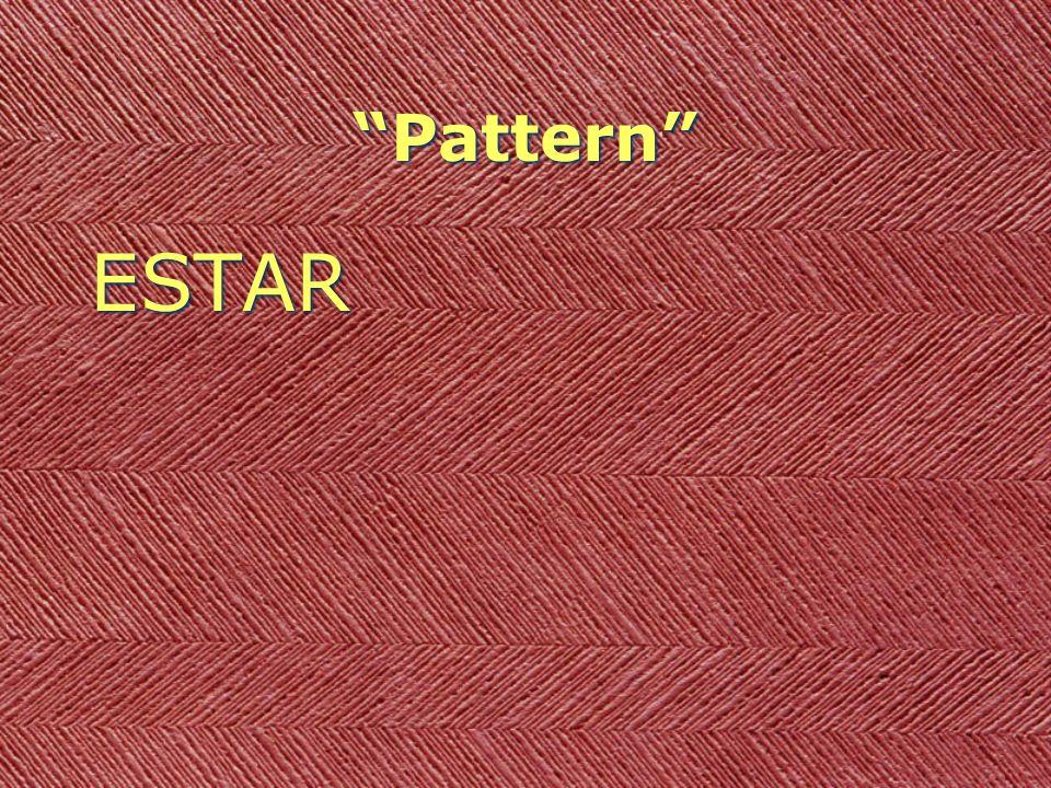 Pattern ESTAR + STEM