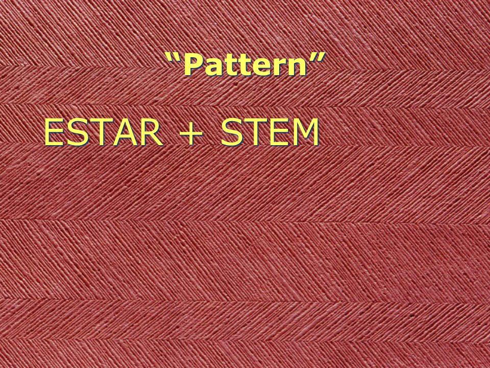 Pattern ESTAR + STEM + -ando (-ar verbs) ESTAR + STEM + -ando (-ar verbs)