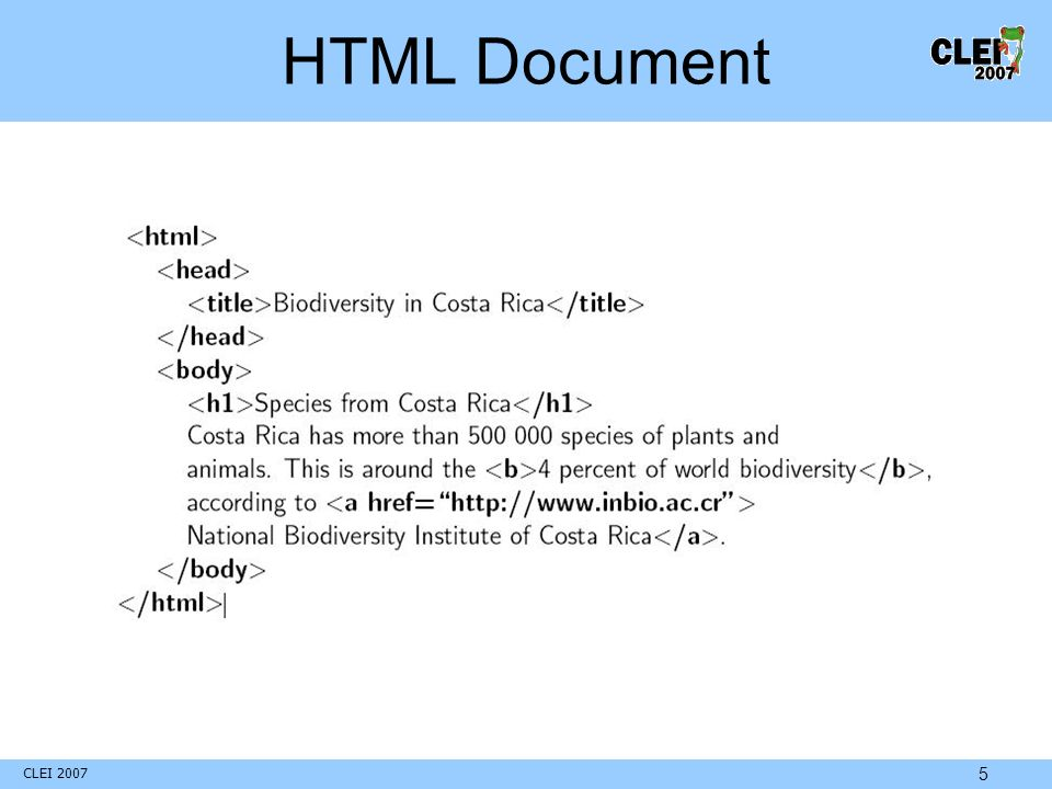 CLEI 2007 5 HTML Document