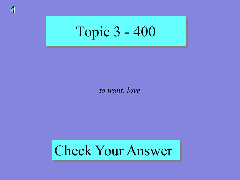 Topic 3 - 300 Back to Game Board Poder