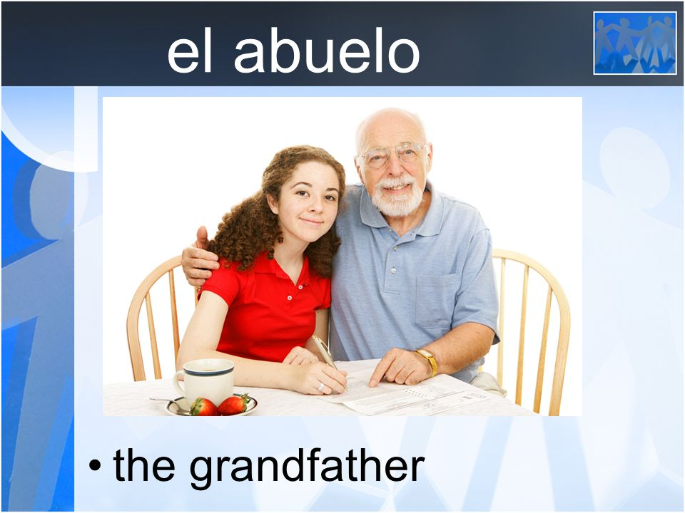 la abuela the grandmother