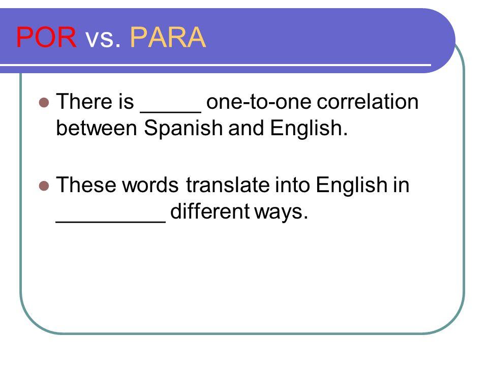 POR vs. PARA Coker College