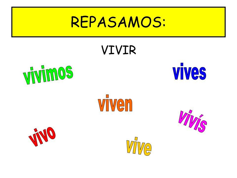 REPASAMOS: VIVIR