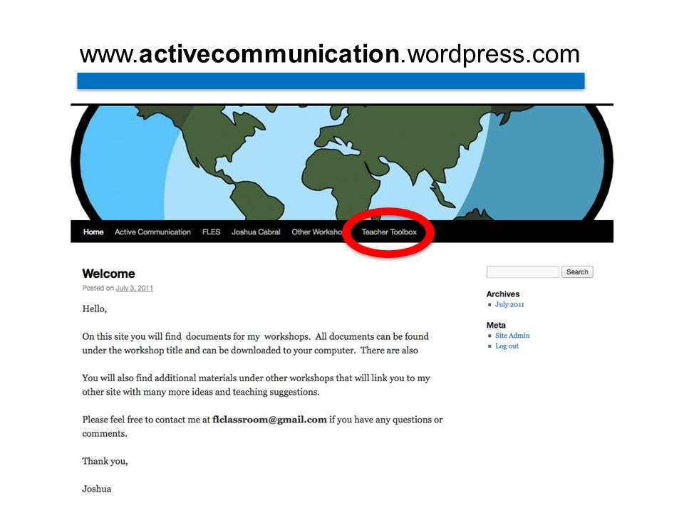 www.activecommunication.wordpress.com