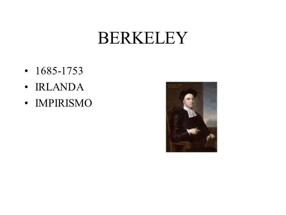 BERKELEY 1685-1753 IRLANDA IMPIRISMO