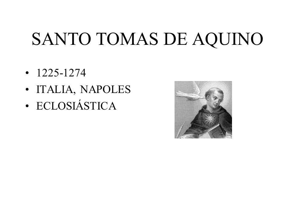 SANTO TOMAS DE AQUINO 1225-1274 ITALIA, NAPOLES ECLOSIÁSTICA