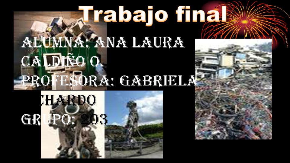 Alumna: Ana Laura Caldiño O. Profesora: Gabriela Pichardo grupo: 203