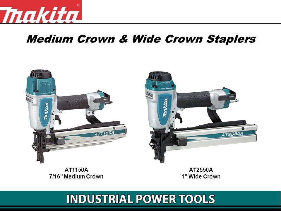 Medium Crown & Wide Crown Staplers AT2550A 1