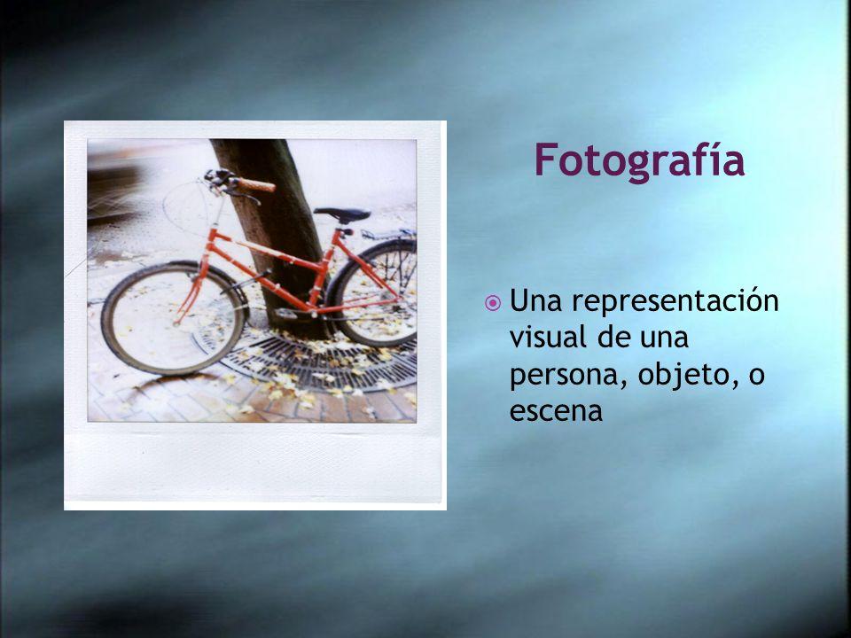 Fotografía Una representación visual de una persona, objeto, o escena