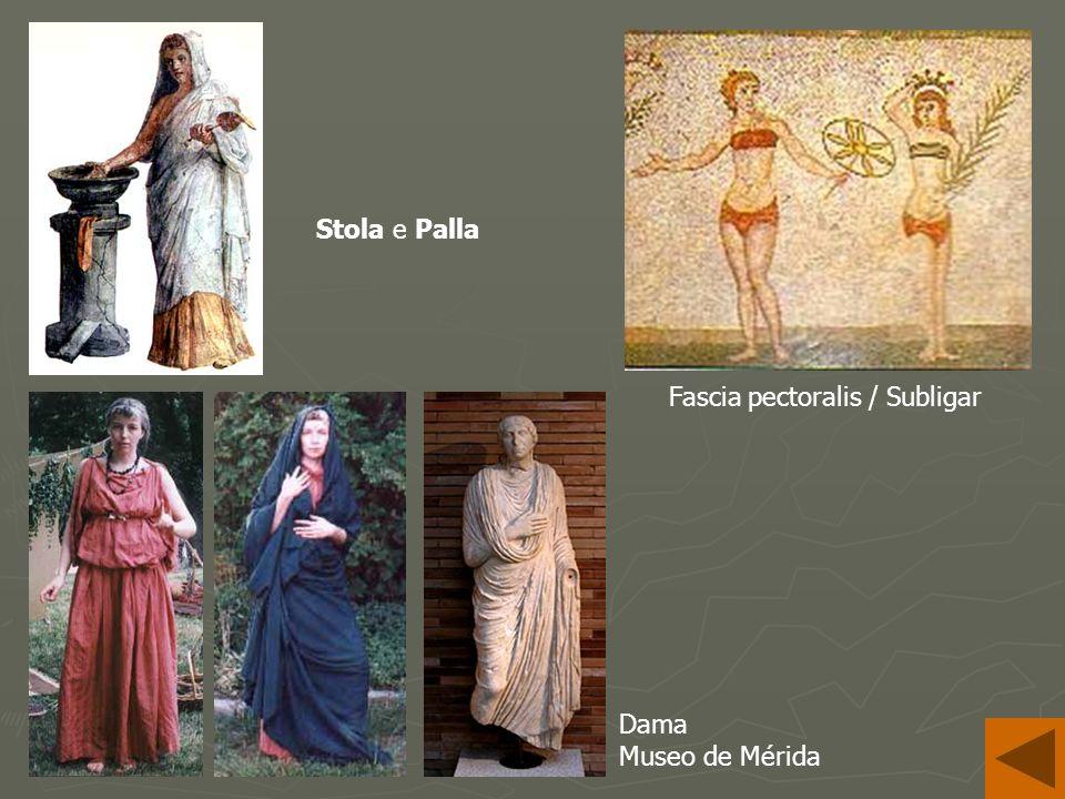 Stola e Palla Fascia pectoralis / Subligar Dama Museo de Mérida
