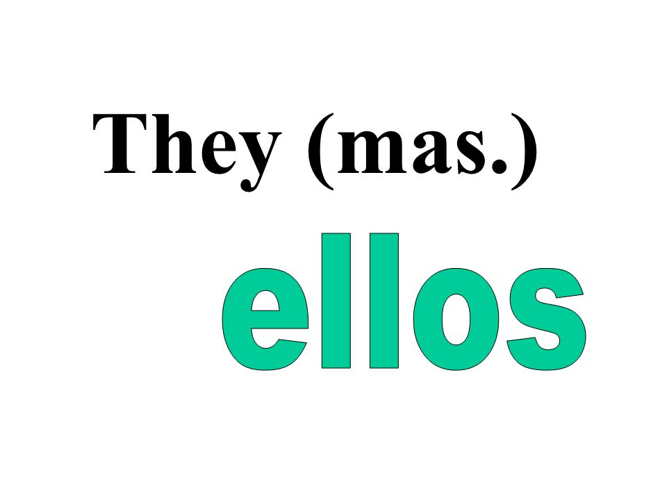 They (mas.)