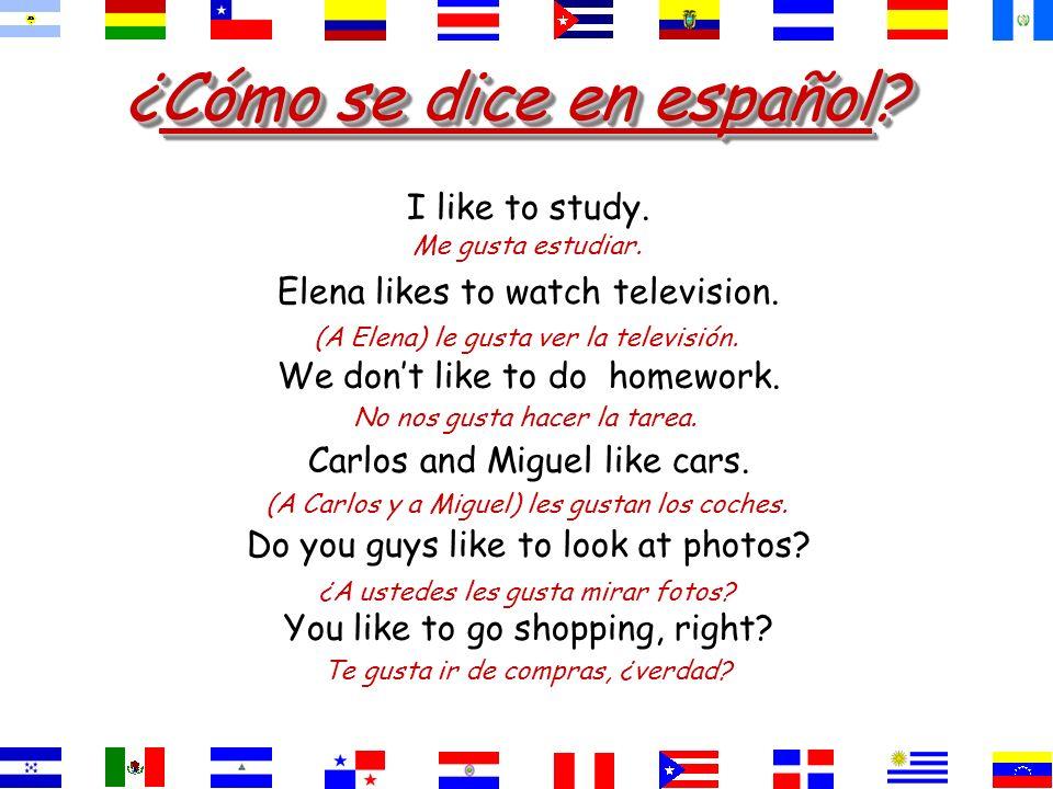 ¿Cómo se dice? They like history and spanish. History and Spanish are pleasing to them. la historia y el español. gustanA ellos les