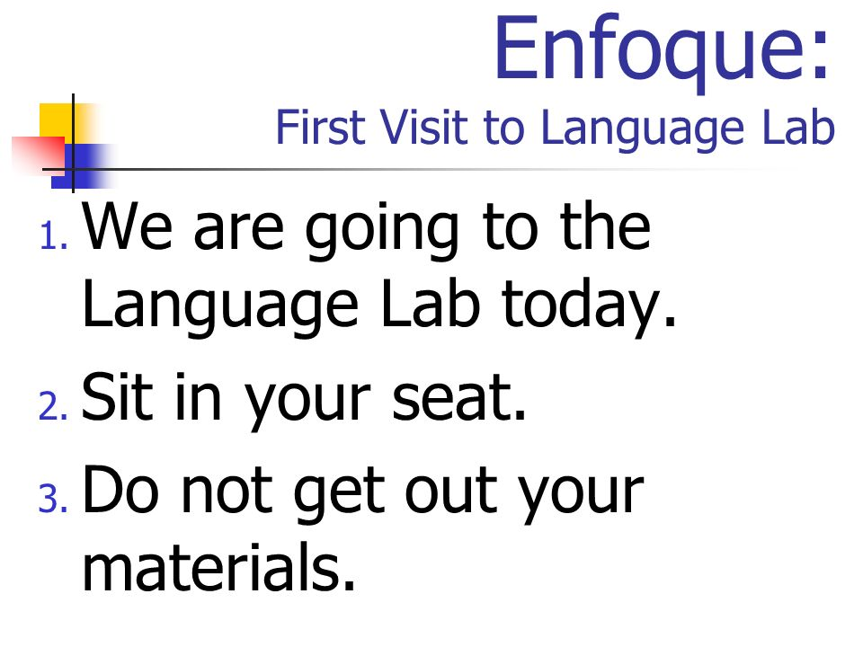 La Agenda Language Lab Routine Logging On Review Vocabulary Online Flashcards Language Lab Rules Alphabet (p.