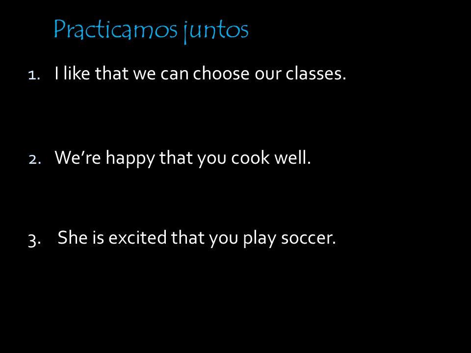 ¡CUIDADO! You must use the subjunctive after an emotion, regardless of the truthiness of the statement. No me sorprendo de que la clase de español sea