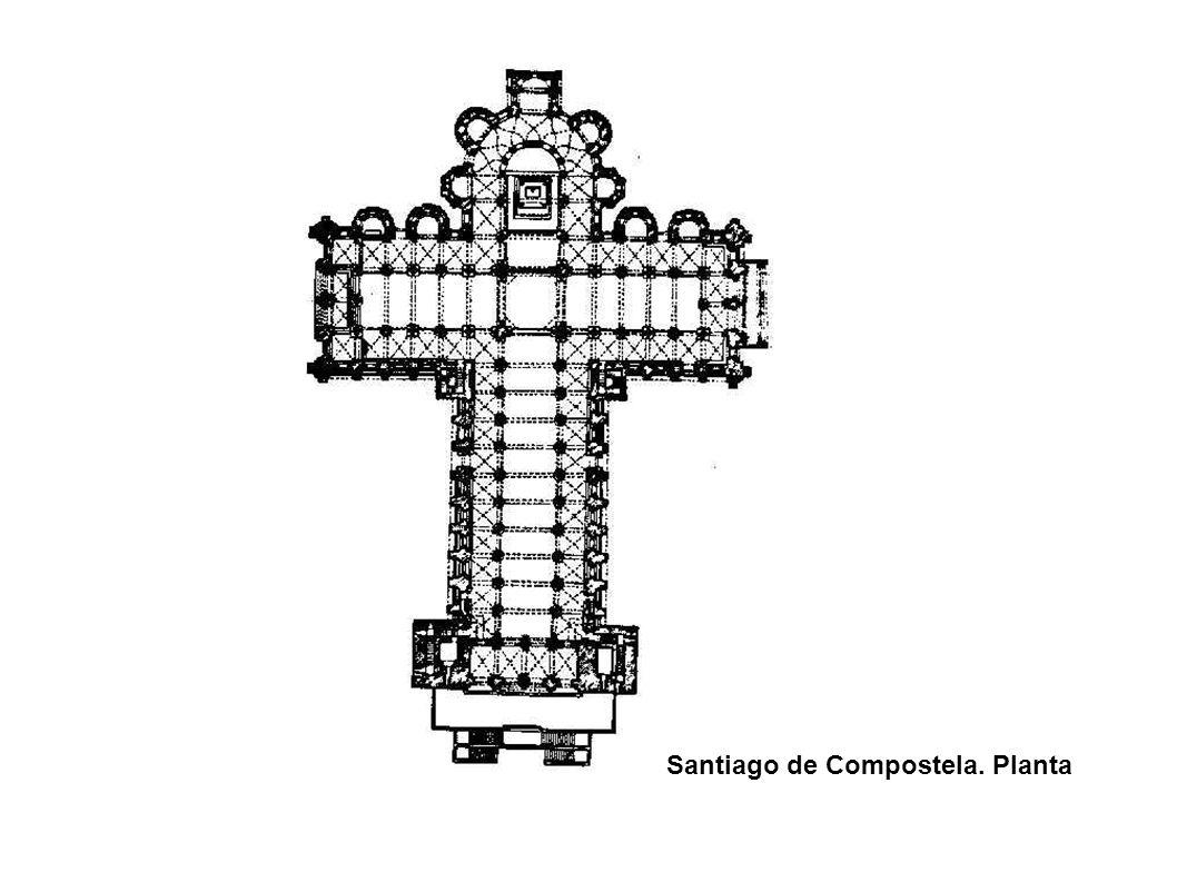 Santiago de Compostela. Planta