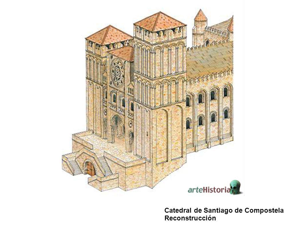 Catedral de Santiago de Compostela Reconstrucción