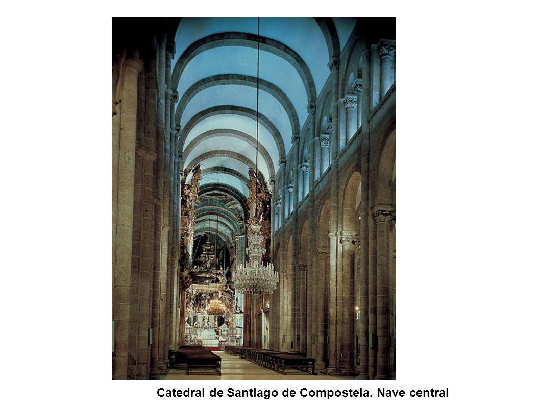 Catedral de Santiago de Compostela. Nave central