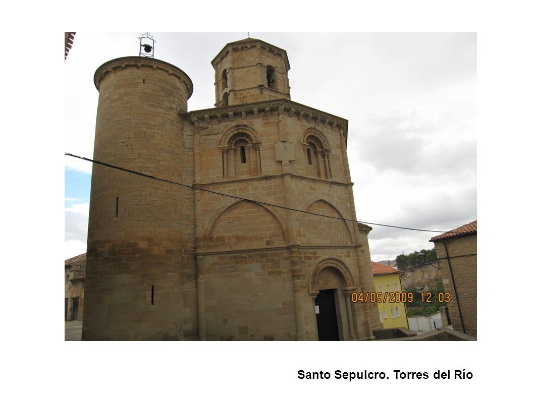 Santo Sepulcro. Torres del Río