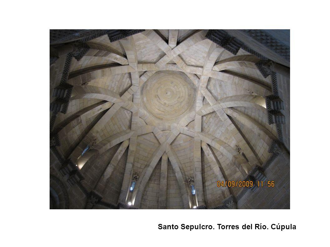 Santo Sepulcro. Torres del Río. Cúpula