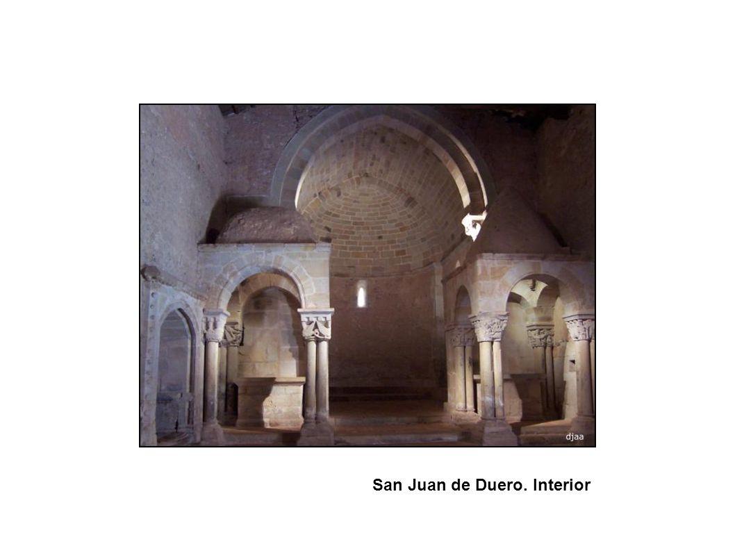 San Juan de Duero. Interior