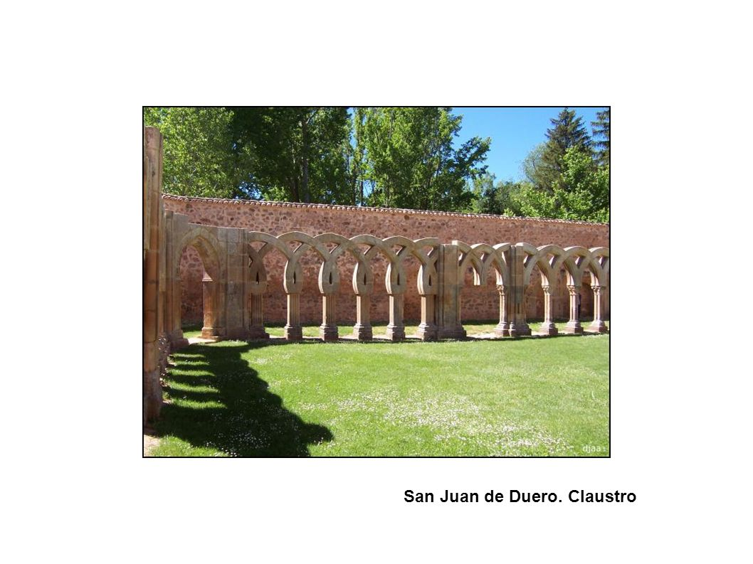 San Juan de Duero. Claustro