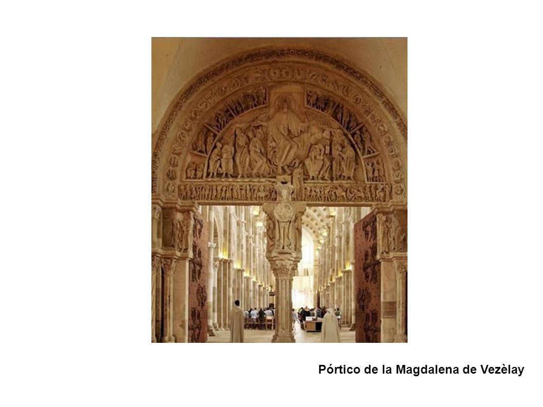 Pórtico de la Magdalena de Vezèlay