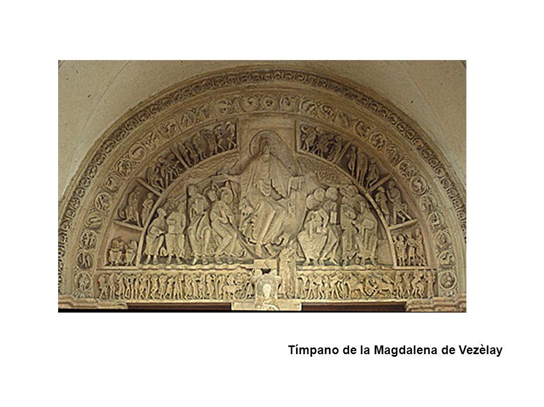 Tímpano de la Magdalena de Vezèlay