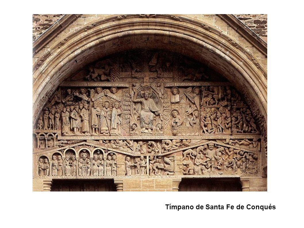 Tímpano de Santa Fe de Conqués