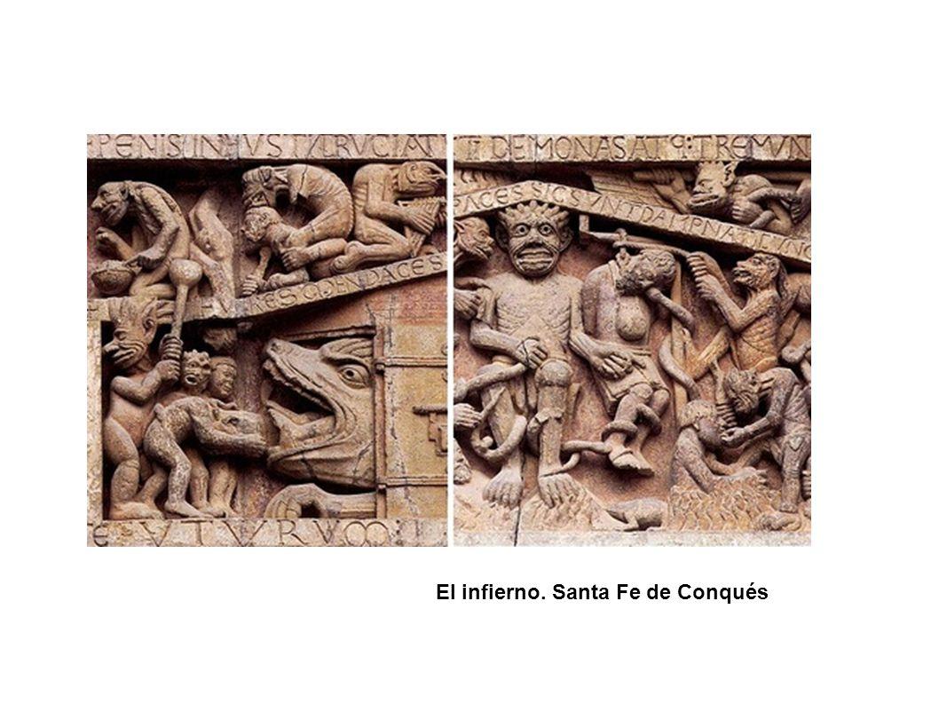 El infierno. Santa Fe de Conqués