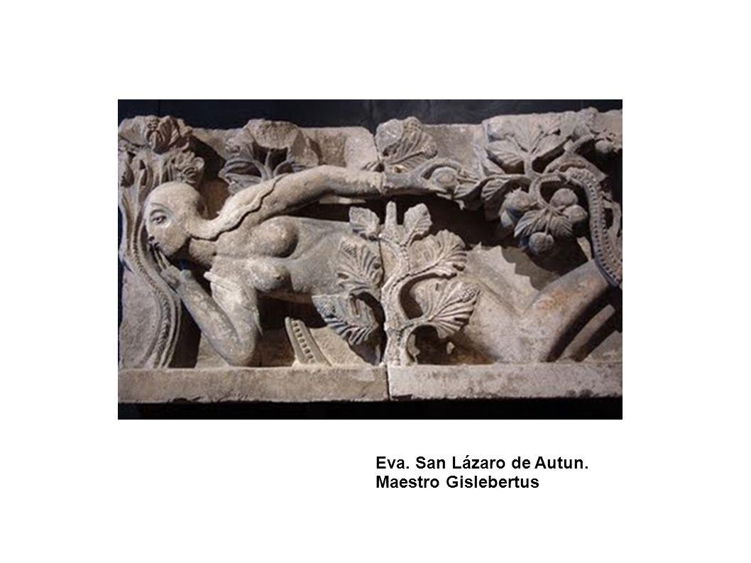 Eva. San Lázaro de Autun. Maestro Gislebertus