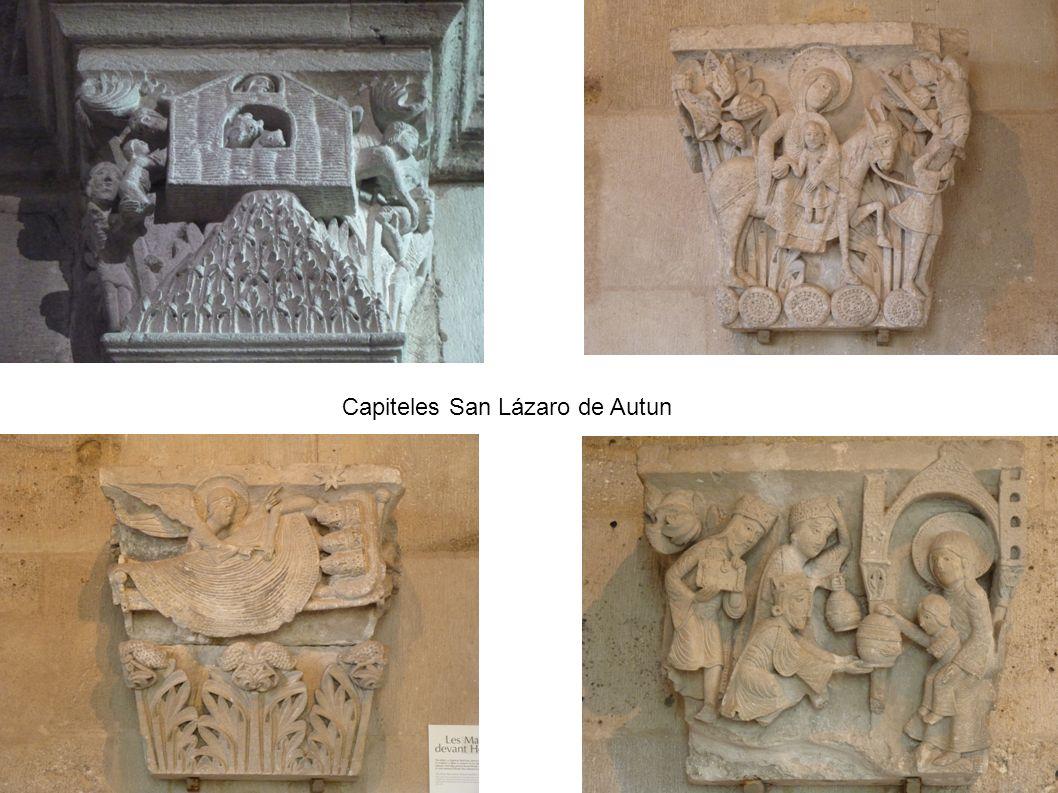 Capiteles San Lázaro de Autun