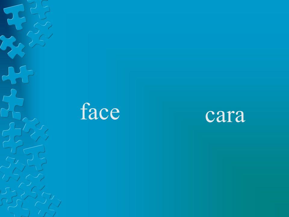face cara