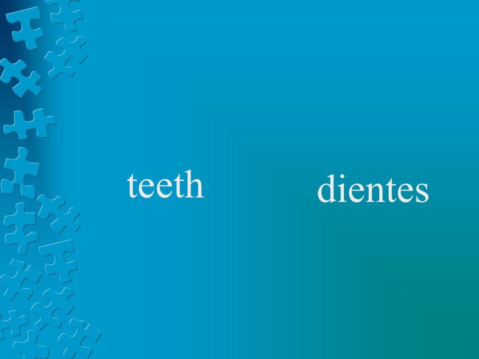 teeth dientes