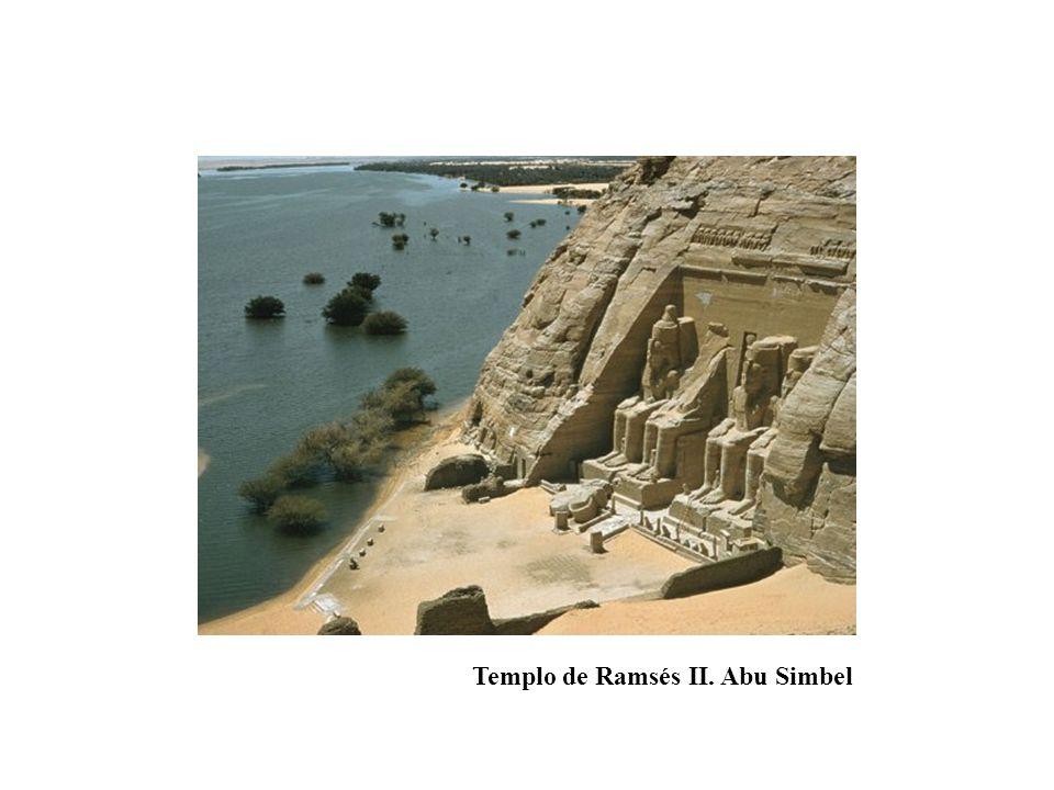 Templo de Ramsés II. Abu Simbel