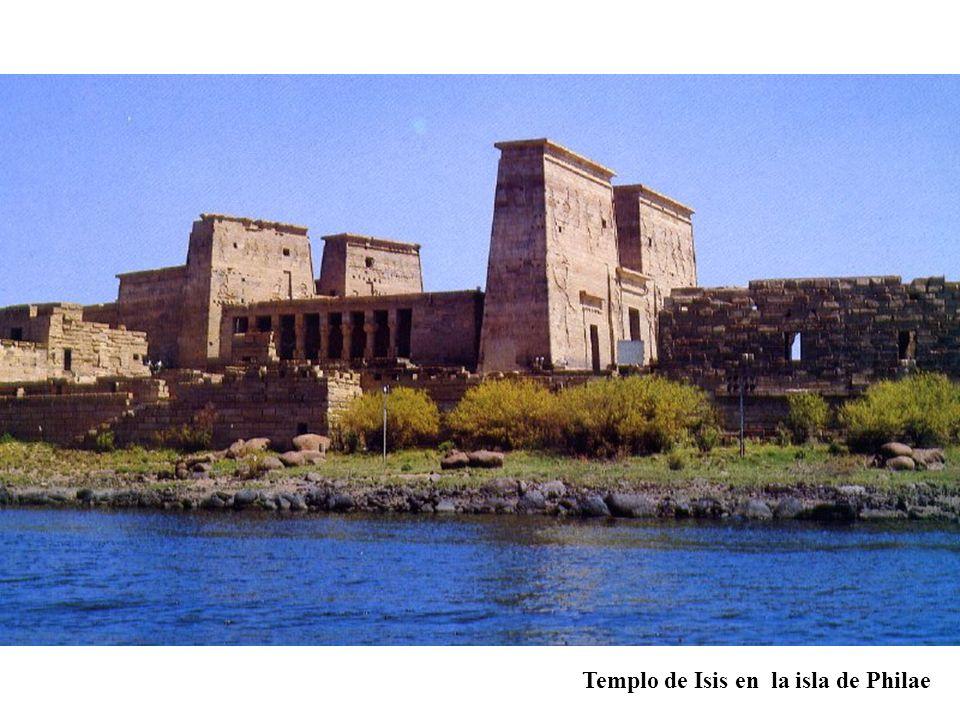 Templo de Isis en la isla de Philae