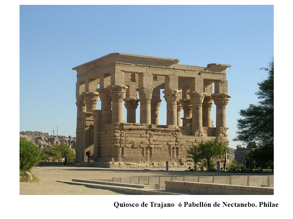 Quiosco de Trajano ó Pabellón de Nectanebo. Philae