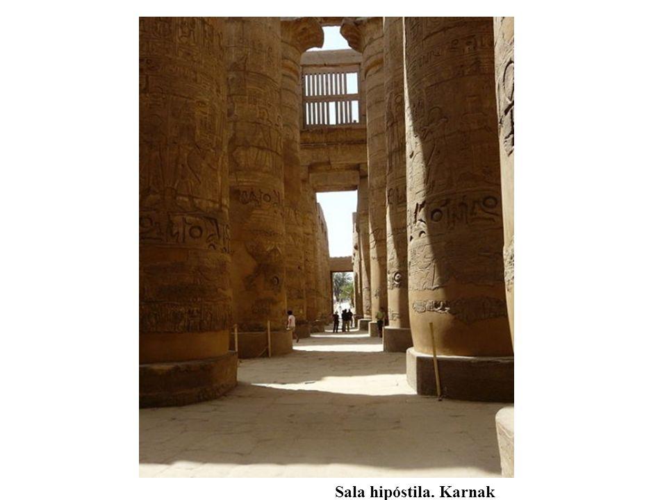 Sala hipóstila. Karnak