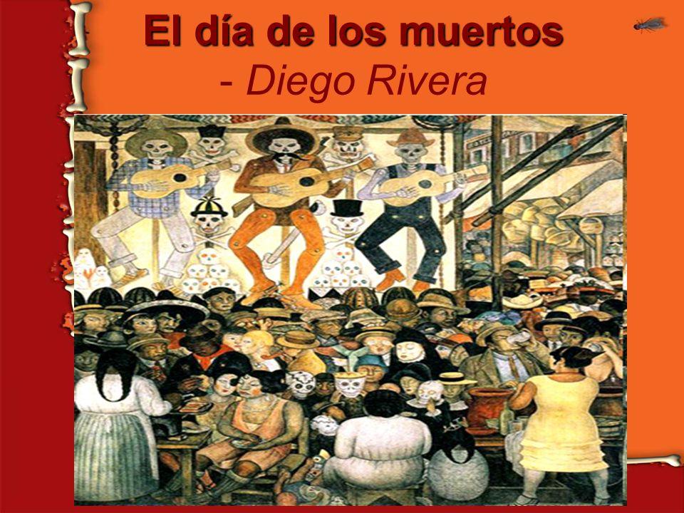 El día de los muertos El día de los muertos - Diego Rivera