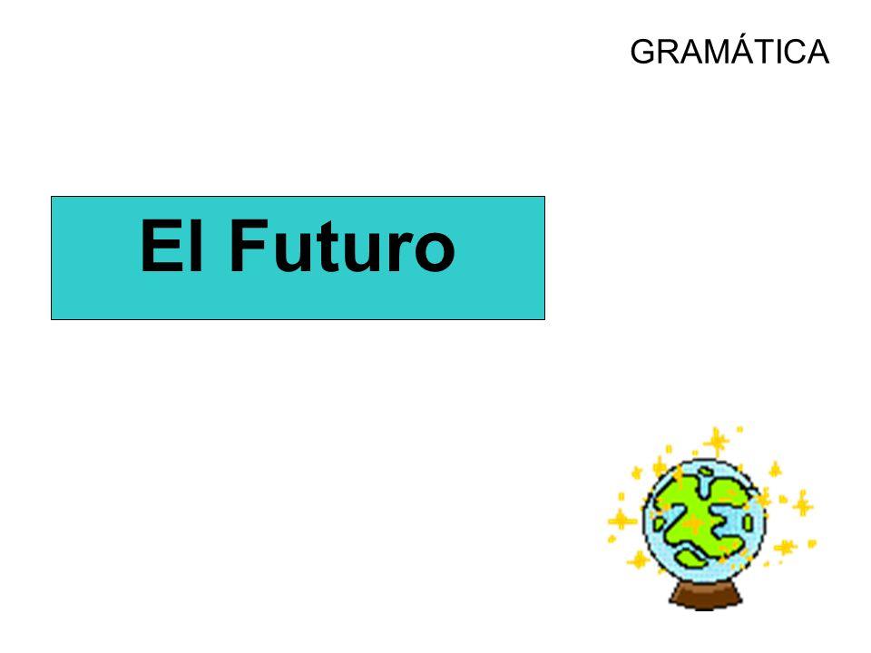 GRAMÁTICA El Futuro