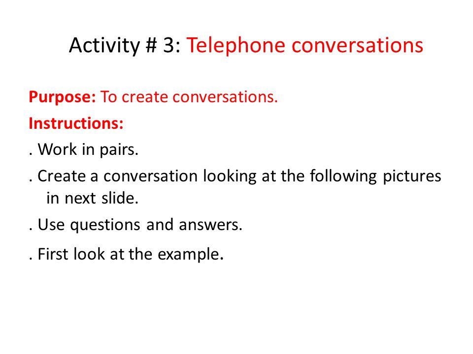 Estructura o preguntas guías para Actividad # 2 Try to do your best today Do all your homework
